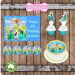 Frozen Edible Image Icing Cupcake Toppers