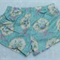 Size 8 - Rococo & Sweet blue ruched shorts