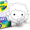 Colour Me Lamb with Washable Markers