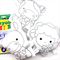 Colour Me Cow Lamb Pig with Washable Markers
