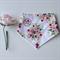 Vintage floral bandana dribble bib