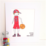 Basketball - Never Stop Dreaming