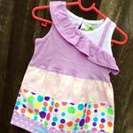 Asymmetric Layer Dress Size 0