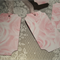 Gift Tags - Pink Rose