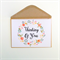 Thinking of You Card| Sympathy Card| Floral Wreath|Personalise|SYMP004