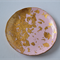 Ombre Pink / Rose & Gold Leaf Polymer Clay Jewellery Dish Size Small