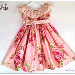Adele Dress - Custom Order  Size 1 - 5 years