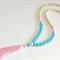 Pastel Tassel Necklace.