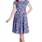 Rockabilly Apple Print dress