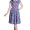Rockabilly Apple Print dress