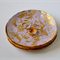 Pastel Purple / Lilac & Gold Leaf Polymer Clay Jewellery Dish Size Small