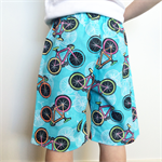 Size 2 OR 4 Boys or Girls Bright Vintage Bicycle Shorts 100% Cotton