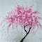 large cherry blossom painting, large painting of cherry blossoms, cherry blossom
