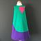 Pink Heart Pop Art Dress - size 4