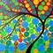 Tree of life, painting, on, canvas, art, large, huge, paintings, of, trees