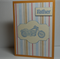FATHERS DAY MOTOR BIKE  CARD TRAVELLING DAD