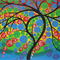 Tree of life, on canvas, abstract, art, modern, painting, paintings, large
