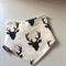 Adjustable Baby Bandana Bib with Bamboo Fleece - Deer Head