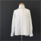 White Shirt with Round Club Collar - size 8
