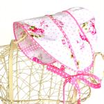 Peek a Boo Bonnet CUSTOM ORDER Size newborn to child