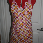Handmade pink apron