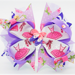 Bella 'Ballerina' Bow in Purple
