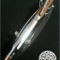 Hand Turned 308 Rifle Bullet Chrome and Tasmanian Blackwood Pen