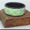 Springtime polymer clay bangle