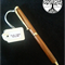 Hand turned Slimline Wood Ballpoint Pen