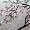 Japanese tree painting, painting of a cherry blossom tree, small gift for girls