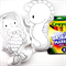 Colour Me Mermaid and Seahorse with Washable Markers