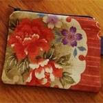 Venice purse with Japanese floral feature