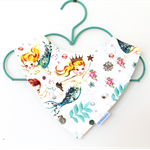 Vintage Mermaid Bandana Bib