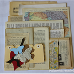 Vintage Ephemera Paper Pack - Collage or Card Making