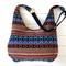 Hobo Bag in Colourful Striped Tribal/Tibetan Fabric