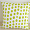 Lime Spots & Squiggles Cushion Cover