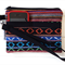 Wristlet in Tibetan Fabric with Detachable Strap