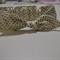 Cotton Top Knot || Girls Headband || Babies HeadBand || White with Gold Dots