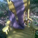 Wool/Alpaca Hand Knitted Scarf