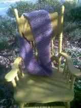 Wool/Alpaca Hand Knitted Scarf