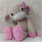 Personalised Amigurumi - Crochet Girl Monkey