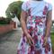 Suspender Skirt 'Pixel Flower' - Sizes: 2, 3 & 4