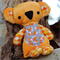 Fluffy Orange Koala Softie