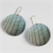 Photographic Earrings - Pattern Play - Roof Pattern