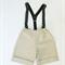 The Vintage Collection Boys Cream Linen Shorts