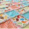 Elephants, Owls & Birds Reversible Rag Quilt
