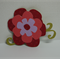 RED LAYERED FLOWER CARDSTOCK FOR SCRAPBOOKING & CARDMAKING