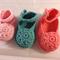 baby shoe | booties | flower | mary jane | wool | made to order