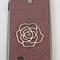 Samsung Galaxy S4 Pink English Rose Glitter Case i9500 - S4 phone case