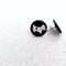 Scotty Dog | Button Earrings